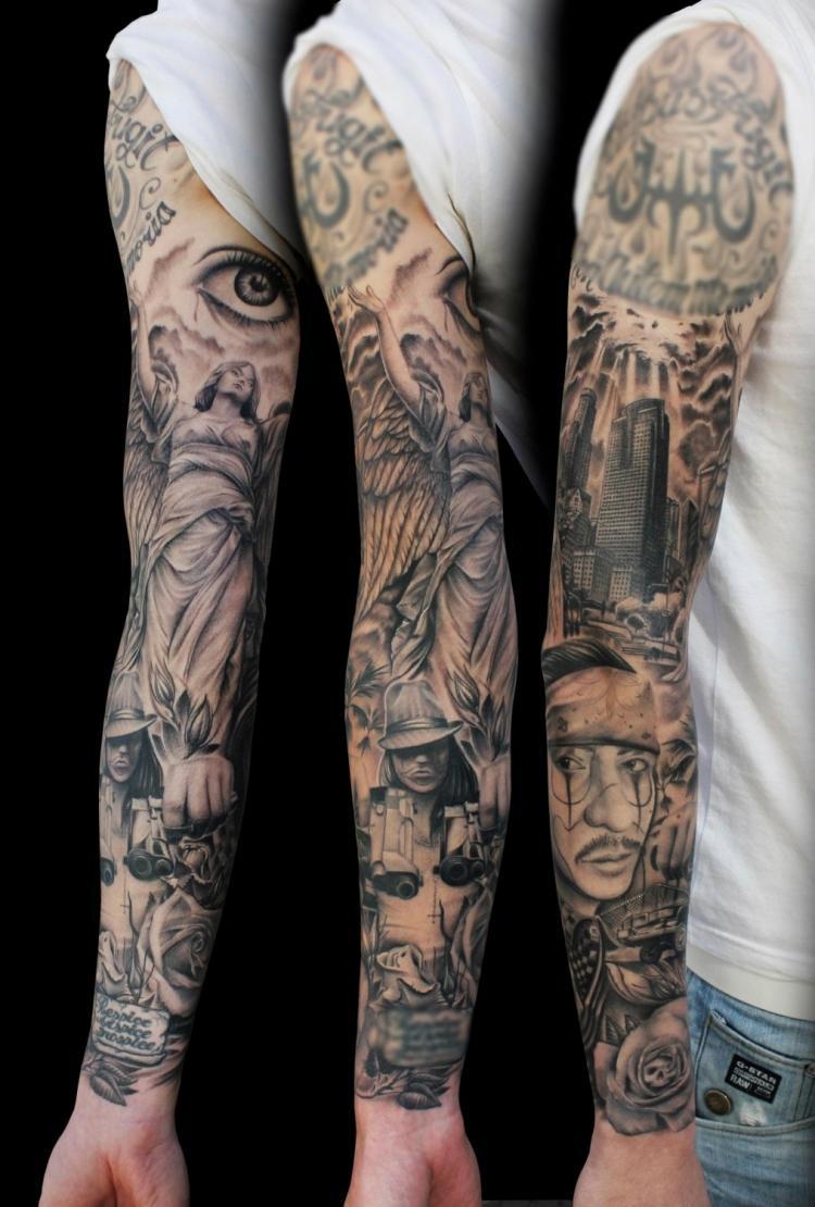Tatouage bras homme avant de se lancer il faut chercher un tatoueur exp riment - Bras tatoue homme ...
